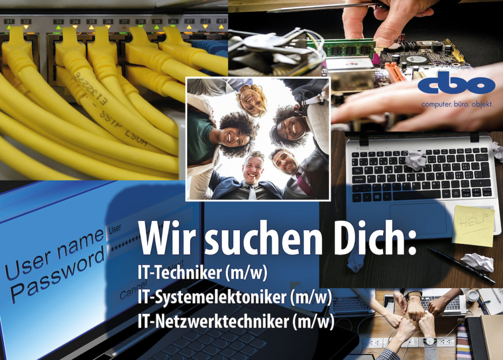 IT-Netzwerk, Techiker, Support, Stelle, IT Job