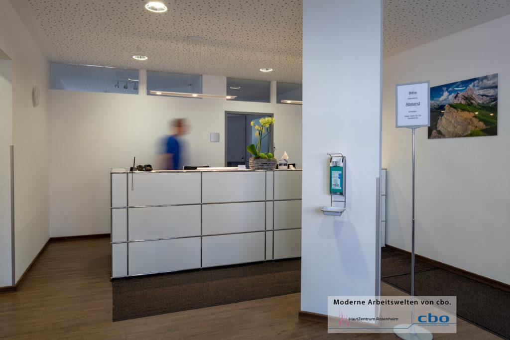 Hautzentrum Rosenheim und cbo