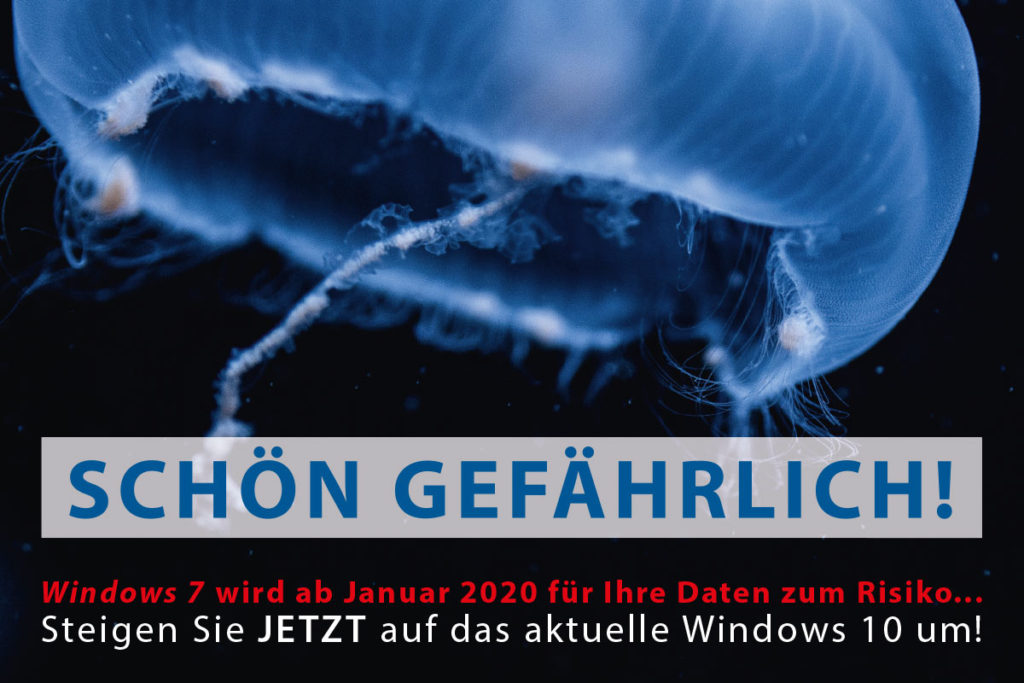 Aktionsbild Windows-Supportende