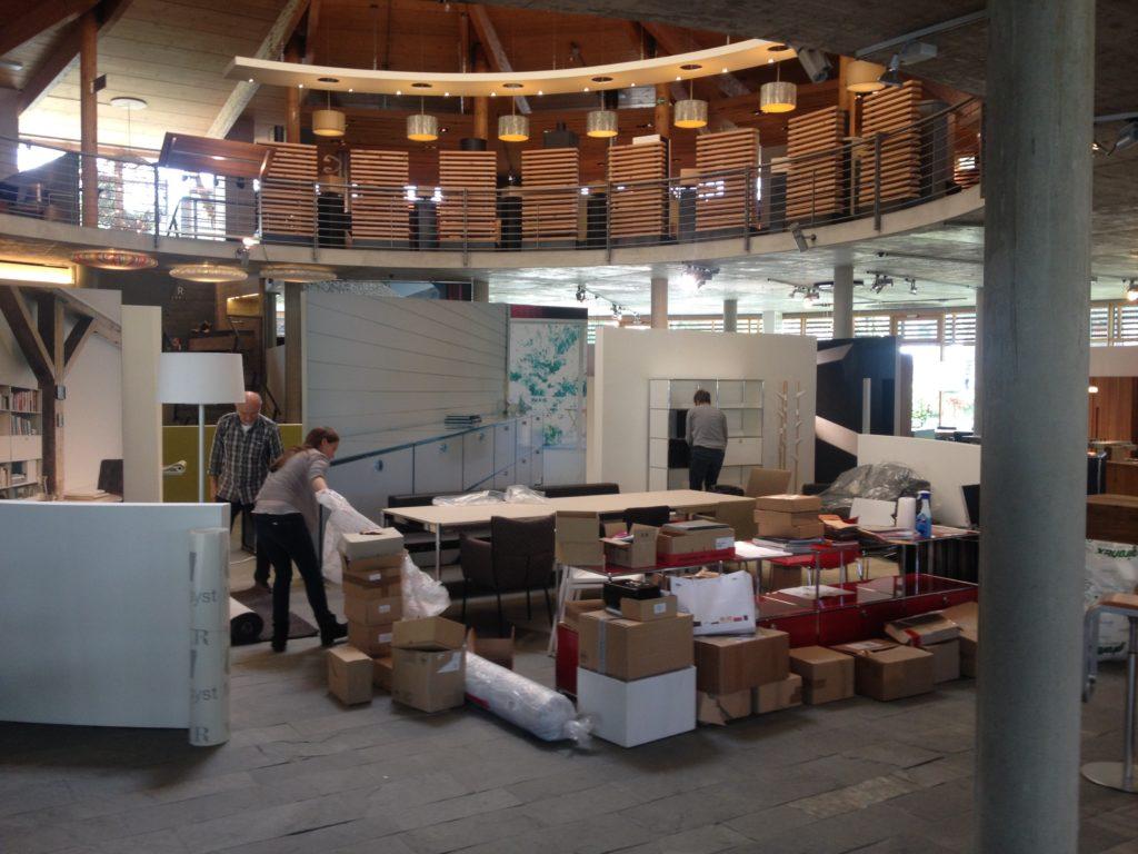 Verdoppelung Ausstellungsfläche im werkhaus