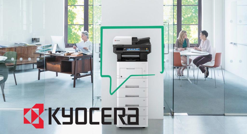 Wir werden Kyocera- Vertragspartner