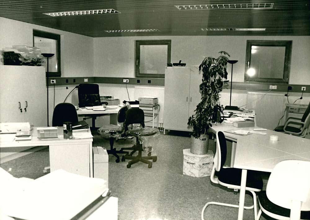 Büros im Keller