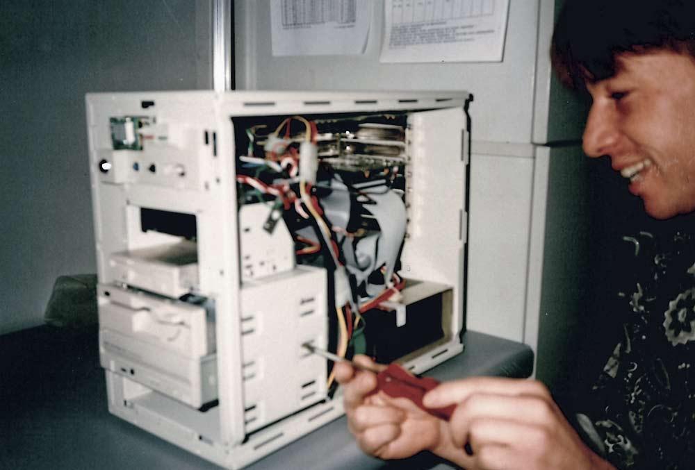 Erster Pentium PC