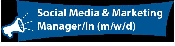 Social Media Manager gesucht